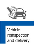 Vehicle Reinspection and Delivery
